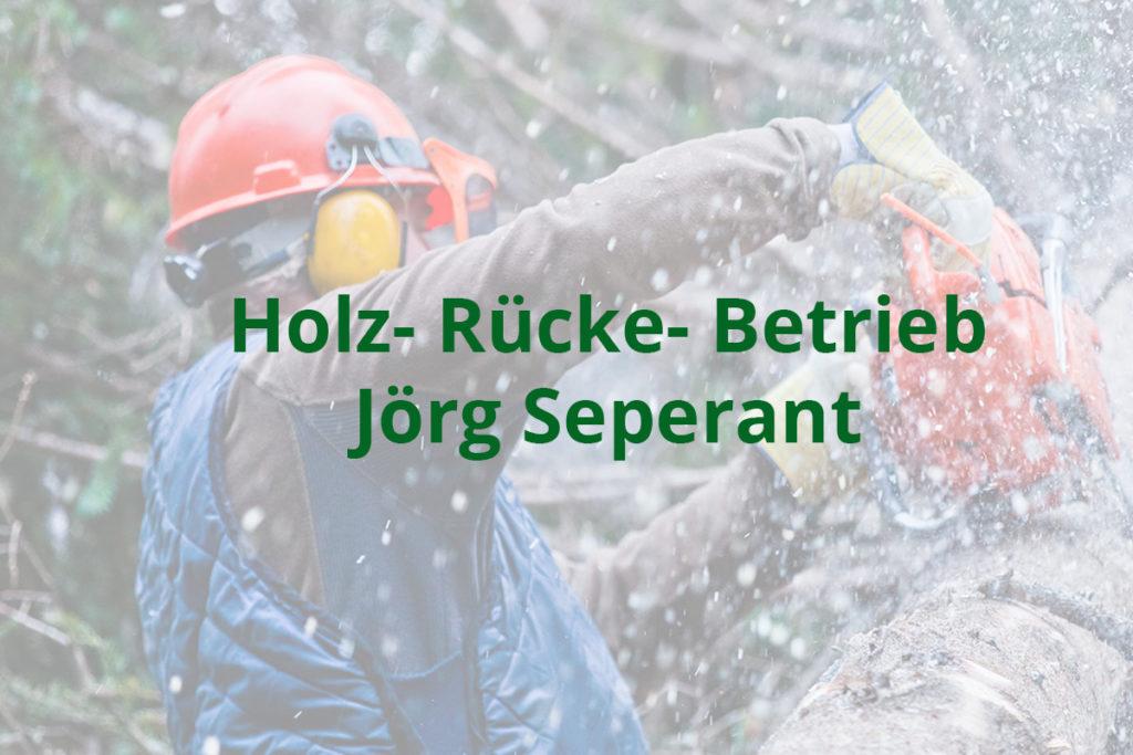 Holz- Rücke- Betrieb Jörg Seperant