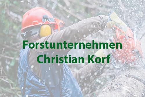 Forstunternehmen Christian Korf