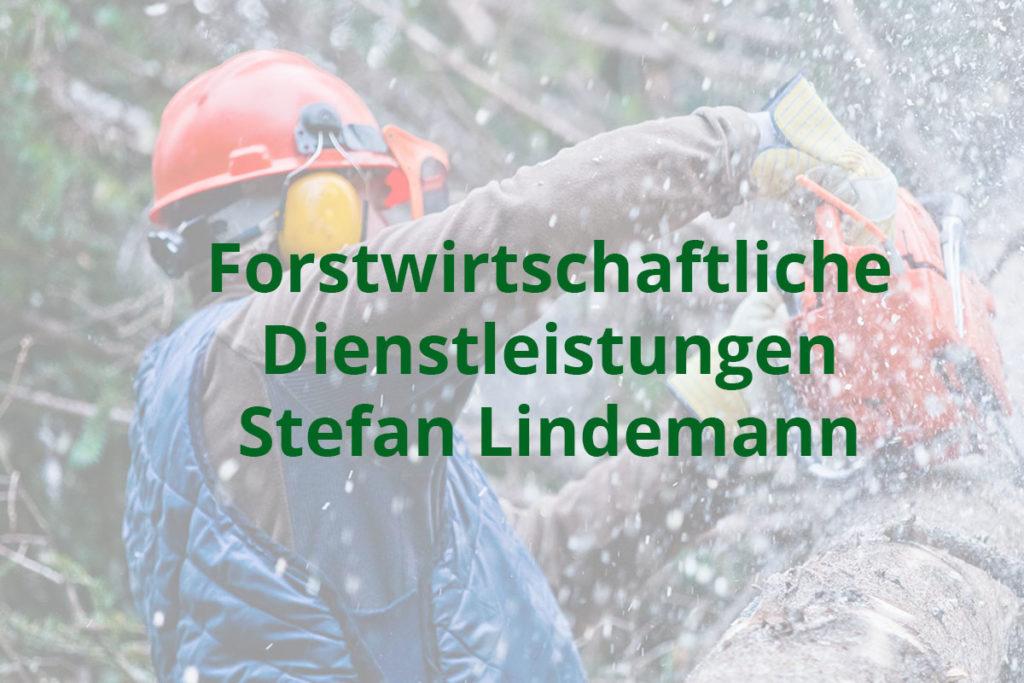 Forstwirtschaftliche Dienstleistungen Stefan Lindemann